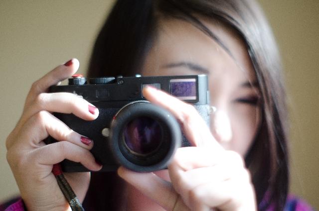 手を読み取る=カメラで撮影する
