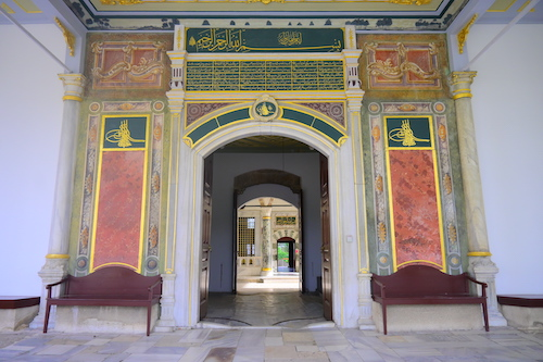 トプカプ宮殿の門
