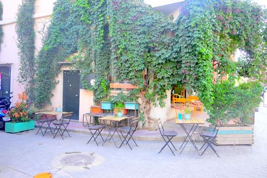 イスタンブールのカフェ
