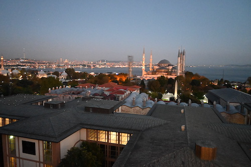 イスタンブールの夕景