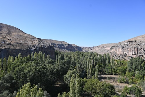 ウフララ渓谷の景色